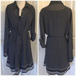 Max Studio shirt dress